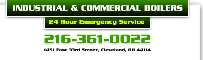 Commercial Boilers and Service in Cleveland: (216) 361-0022
